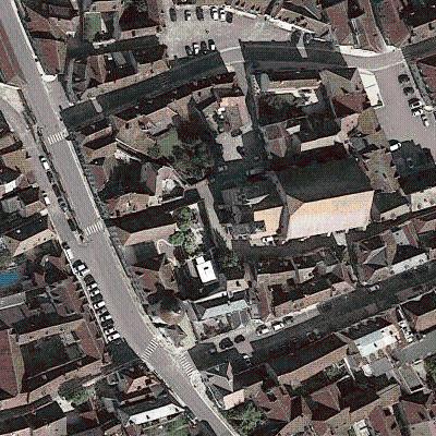 Map Of Yonne France.Eglise De Notre Dame Vermenton Yonne France